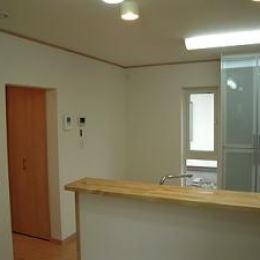 明るいキッチン-2 (house-MTH)