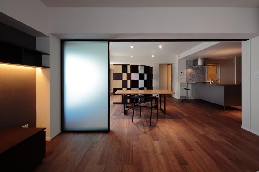 建築家:桑原聡「練馬のマンション内装 (D邸)」