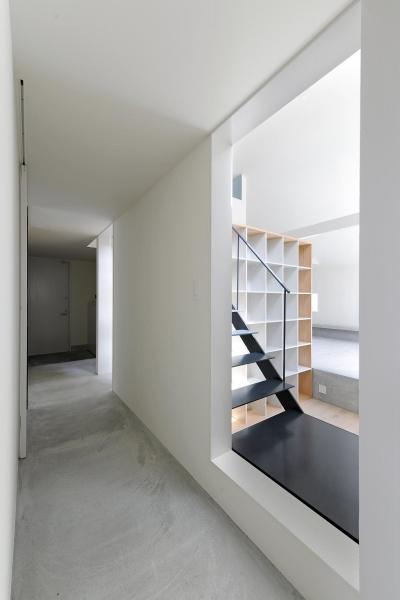桑名の家 (廊下)