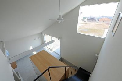 桑名の家 (階段)