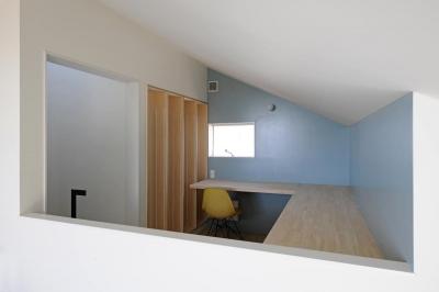桑名の家 (書斎)