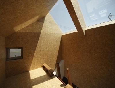 光を集める小屋空間 (『ソラニワ』〜ソラにつながり、ソラへ向かう住宅〜)