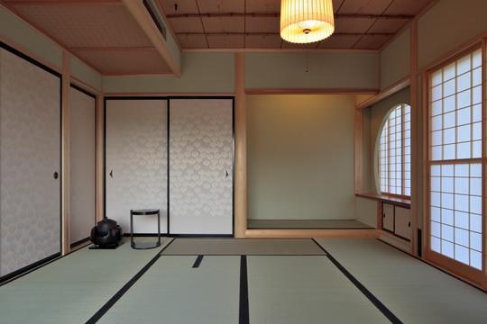 『月と暮らす庵(イエ)』〜浴室・茶室にこだわった和テイストの住まい〜 (細部にこだわった茶室)