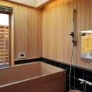 碇谷規幸の住宅事例「『月と暮らす庵(イエ)』〜浴室・茶室にこだわった和テイストの住まい〜」