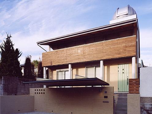 『ドームのある家』〜天体観測もできる!人にも環境にも優しい家づくり〜の部屋 ドームのある外観