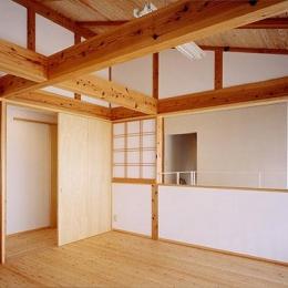 『ドームのある家』〜天体観測もできる!人にも環境にも優しい家づくり〜 (自然素材に包まれる2階子供部屋)