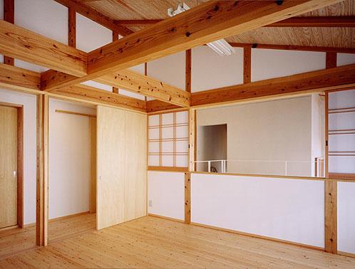 『ドームのある家』〜天体観測もできる!人にも環境にも優しい家づくり〜の部屋 自然素材に包まれる2階子供部屋