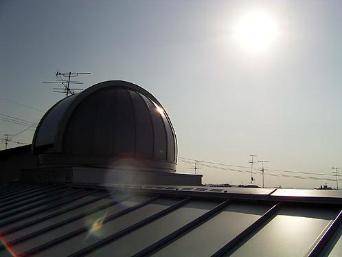 『ドームのある家』〜天体観測もできる!人にも環境にも優しい家づくり〜の部屋 天体観測用ドーム