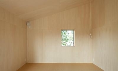 寝室|3つの屋根