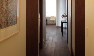 新潟のマンション内装(N邸) (廊下)
