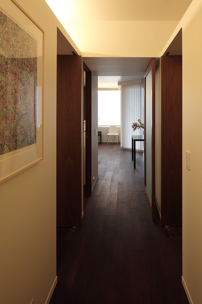 N邸の部屋 廊下