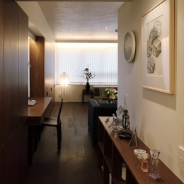 廊下 (新潟のマンション内装(N邸))
