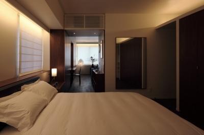 ベッドルーム (新潟のマンション内装(N邸))