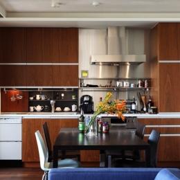 キッチン (新潟のマンション内装(N邸))