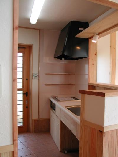 キッチン (愛犬と暮らす 木の家)