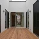 藤本 信の住宅事例「『垂水の平屋』〜中庭のあるシンプル&ナチュラルな住まい〜」