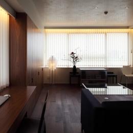 新潟のマンション内装(N邸) (リビング&ダイニングルーム)