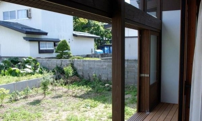 心安らぐ開放的な縁側|『横手の家』〜自然素材たっぷりの和風住宅〜