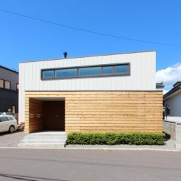 『hoshizora』〜ヒカリとアカリが楽しめる家〜 (シンプルな外観)