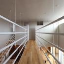 『hoshizora』〜ヒカリとアカリが楽しめる家〜の写真 橋のような廊下-2