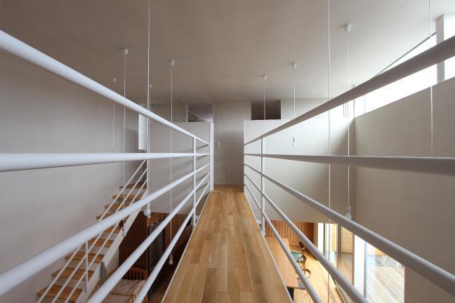 『hoshizora』〜ヒカリとアカリが楽しめる家〜の部屋 橋のような廊下-2