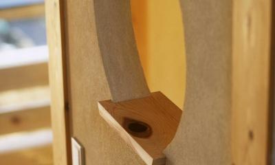 シニア世代の木の家 (花台)