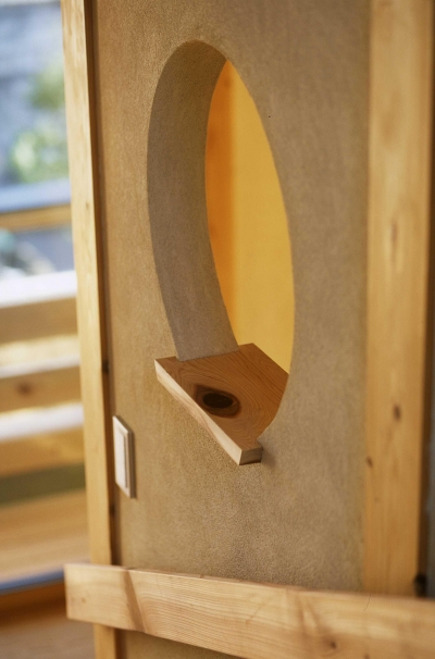 花台 (シニア世代の木の家)