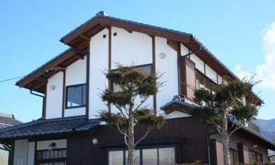 真壁漆喰塗りの和風住宅-1|『内田の家』〜住むほどに味わいが増す、心地よい住まい〜