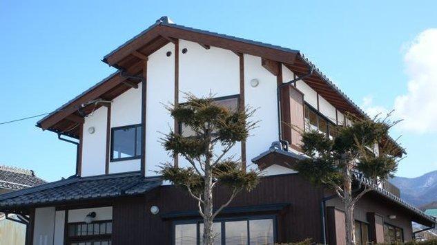 『内田の家』〜住むほどに味わいが増す、心地よい住まい〜の部屋 真壁漆喰塗りの和風住宅-1