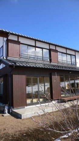 『内田の家』〜住むほどに味わいが増す、心地よい住まい〜 (真壁漆喰塗りの和風住宅-2)