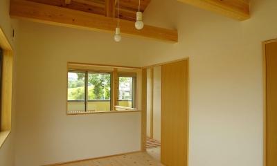 予備室|二世帯の木の家