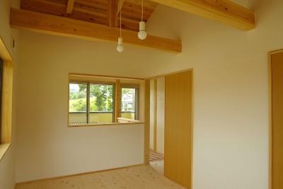 予備室 (二世帯の木の家)