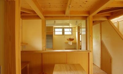 二世帯の木の家 (ダイニング)
