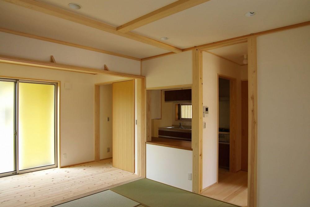 二世帯の木の家 (おとうさんの空間)