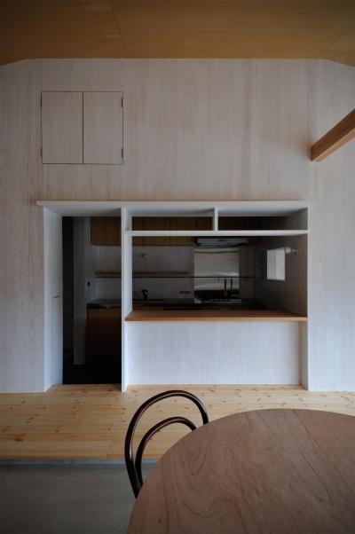 池田町の平屋 (キッチン)