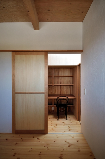 子供室 (池田町の平屋)