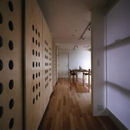 門司港レトロハイマート (廊下)