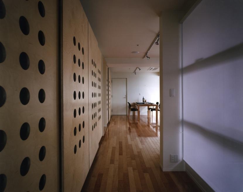 レトロハイマートの部屋 廊下