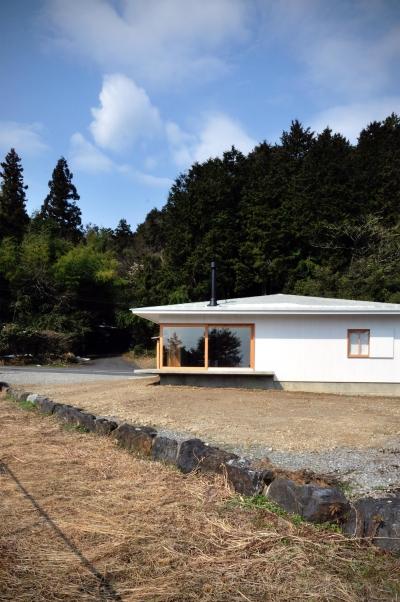 池田町の平屋 (外観2)