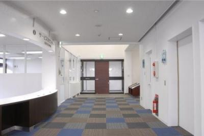 図書館ホール-1 (『前沢図書館改修』〜落ち着く空間づくり〜)