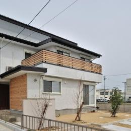 『フリークライマーズ ハウス』〜子供が成長できる夢の住まい〜 (シンプルな外観)