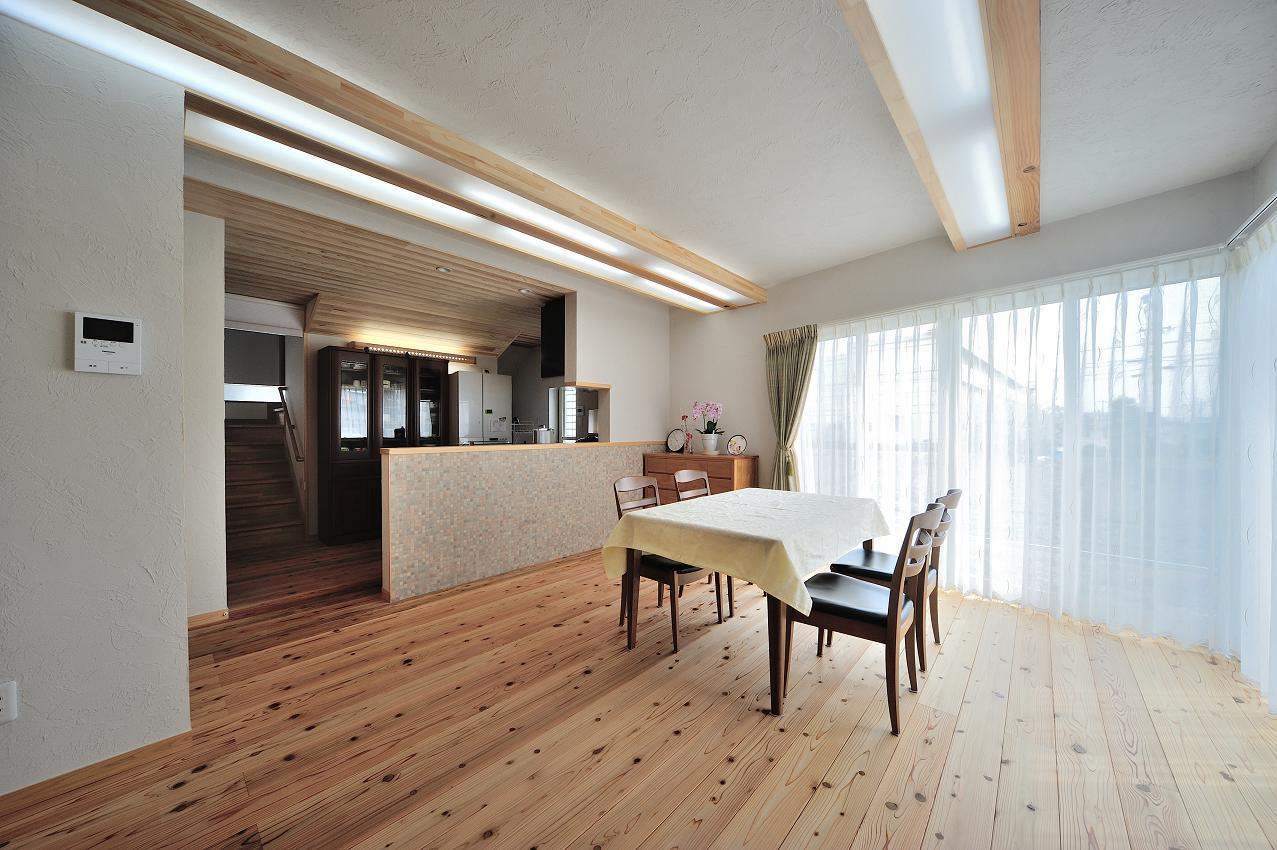 『フリークライマーズ ハウス』〜子供が成長できる夢の住まい〜の部屋 明るい開放的なLDK