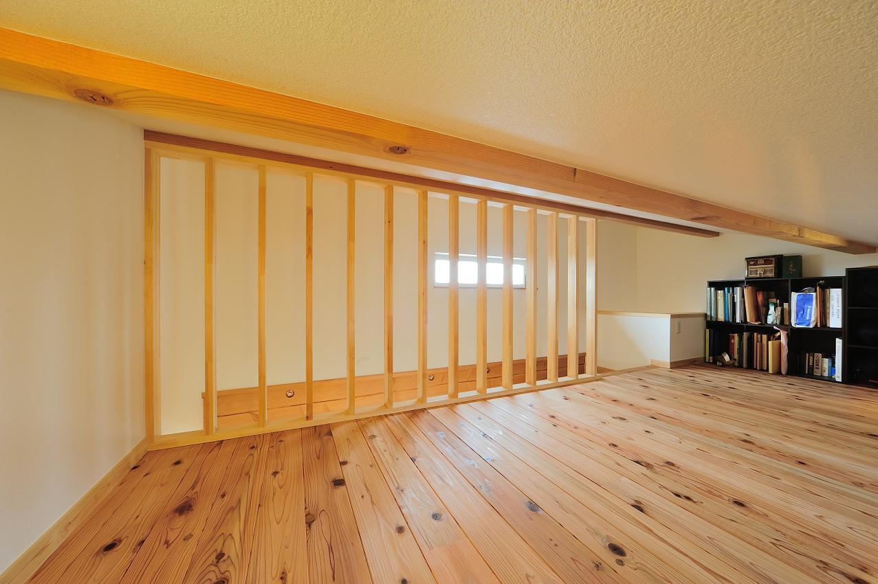 『フリークライマーズ ハウス』〜子供が成長できる夢の住まい〜の部屋 越屋根部分のロフト-1