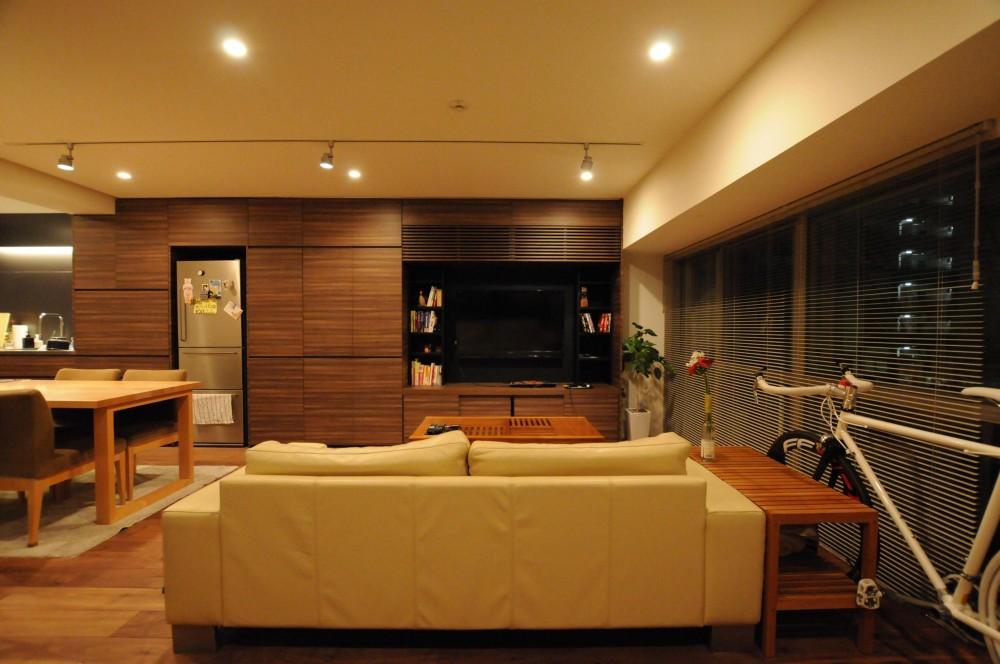 代官山の家 (LDKスペース)