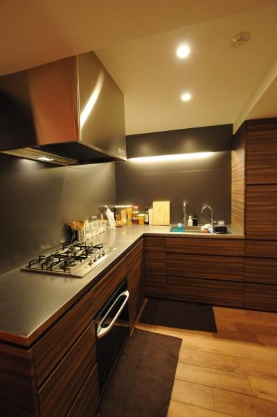 代官山の家 (キッチン)