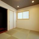 『スクエアハウス』〜大きな吹き抜けのある開放的な住まい〜の写真 和室
