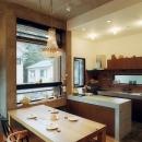 井村正和の住宅事例「『月が丘の住宅』〜荒々しくも柔らかな佇まいの住宅〜」