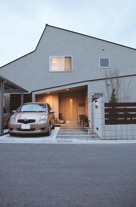 『南加木屋の住宅』〜シルエットの美しい木造2階建住宅〜の部屋 シルエットの美しい外観