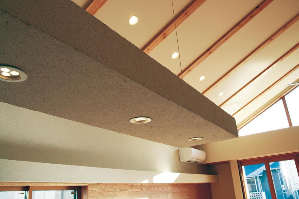 『南加木屋の住宅』〜シルエットの美しい木造2階建住宅〜の部屋 製作ペンダントライト