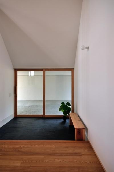 柳瀬の家 (玄関)